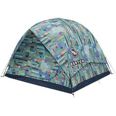 Create a cozy sleeping space under the stars wherever you go with the Rabbit Ears tent from Burton. This easy-to-set-up tent sleeps six people, and is perfect to enjoy in spring, summer, and fall. Rabbit Ears, Quilt Blocks, Outdoor Gear, Seasons, Quilts, Tents, Teepees, Seasons Of The Year, Quilt Sets