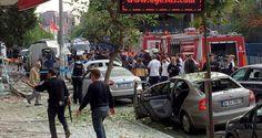 Bom sepeda motor meledak di dekat kantor polisi di wilayah Istanbul  ISTANBUL (Arrahmah.com) - Ledakan di dekat kantor polisi mengguncang kawasan Yenibosna Istanbul pada Kamis (6/10/2016) melukai sedikitnya 10 orang.  Dalam sebuah laporan dikatakan bahwa lima orang terluka dalam ledakan itu. Gubernur Istanbil Vasip Sahin mengkonfirmasikan jumlah korban yang cedera dalam postingan di akun Twitter-nya. Ia mengatakan bahwa sepeda motor yang sarat bom meledak di wilayah Bahcelievler.  Sahin…