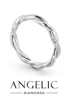 Angelic Diamonds has a huge selection of wedding bands for women. From diamond wedding rings to simple wedding rings, we've got so many beautiful wedding bands you're sure to find your dream wedding ring here. Elegant Wedding Rings, Wedding Rings Vintage, Wedding Rings For Women, Rings For Men, Eternity Rings, Eternity Ring Diamond, Diamond Wedding Rings, Wedding Bands, Beautiful Diamond Rings