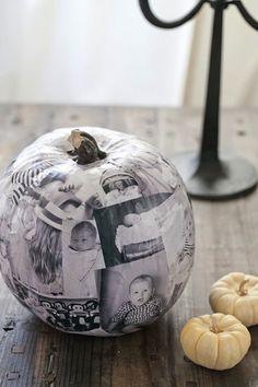 Decoupage Pumpkin   10 Best Pumpkin DIYs   Camille Styles