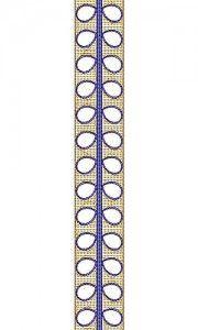 8195 Chain Stitch Design