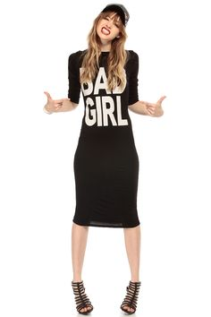 Bad Girl Cut Out Midi Body Con Dress @ Cicihot sexy dresses,sexy dress,prom dress,summer dress,spring dress,prom gowns,teens dresses,sexy party wear,ball dresses