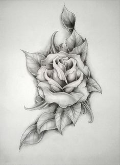 rose (Mercyys birthday) by ~ritubimbi on deviantART ...If I did two of these to make a bed of roses underneath the tags? maybe had the artist do more with the tags too. I want it to look feminine! by Mariya pp