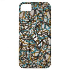 Abstract Tangled Threads iPhone5 Case