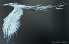 ArtStation - Ice Bird conceptual design, Wei Guan