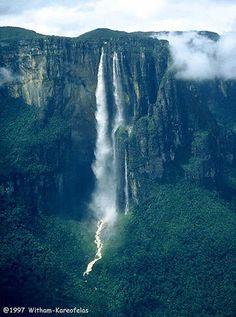 Angel Fall, Canaima, Venezuela #nosinspira