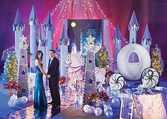 sweet 16 cinderella party ideas | ... Magical Cinderella Themed Quinceanera | Party Ideas by Shindigz