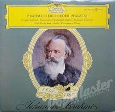 Johannes Brahms Liebeslieder (Walzer) Irmgard Seefried, Raili Kostia, Waldemar Kmentt, Eberhard Waechter Eric Werba und Gunther Weissenborn LPM 18792