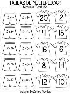 Tried this Pin? 1st Grade Math Worksheets, 2nd Grade Math, Worksheets For Kids, Multiplication Games For Kids, Multiplication Strategies, Go Math, Math For Kids, Nouns Worksheet, Math Charts