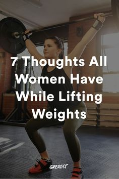 Hands up if you've been mansplained at the gym. #greatist https://greatist.com/fitness/thoughts-all-women-have-while-lifting-weights