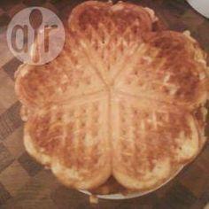 Malse zoete hartvormige wafeltjes @ allrecipes.nl
