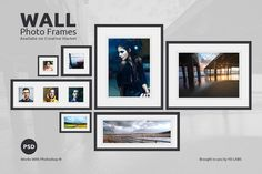 Wall Frame Set Updated by YD-LABS on @creativemarket