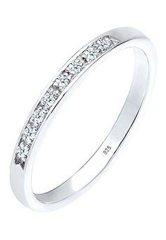 DIAMORE Women Ring  925 Sterling Silver  Diamond White 0.08ct  0609480315_52…