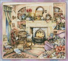 Fireside Embroidery [JACOBS100] - $12.35 : Heaven And Earth Designs, cross stitch, cross stitch patterns, counted cross stitch, christmas stockings, counted cross stitch chart, counted cross stitch designs, cross stitching, patterns, cross stitch art, cross stitch books, how to cross stitch, cross stitch needlework, cross stitch websites, cross stitch crafts
