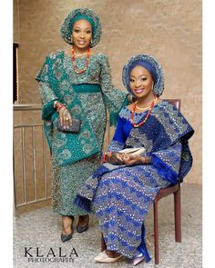 Bukky and Aramide decided to tie the knot on the same day and the happy brides couldn't have wished otherwise because they sure had a wonderful double wedding!Talk of beautiful sisters who have got styles, Aramide and Bukky exude elegance, beauty, and perfection on their traditional...