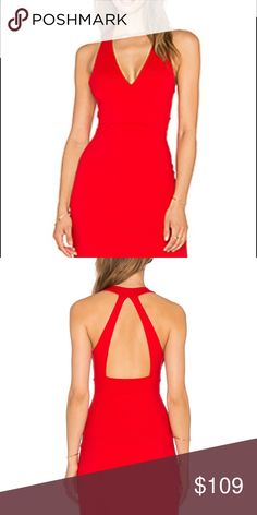 Susana Monaco Gia Dress S ! NWOT SM Dress in Perfect Red! I bought this on Revolve.com for $165- never worn, from a smoke free home Susana Monaco Dresses Mini