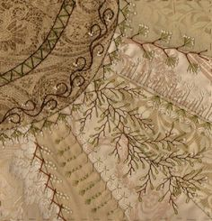 I ❤ crazy quilting & embroidery . . . CQJP 2013, ~By Berta P. New York, USA
