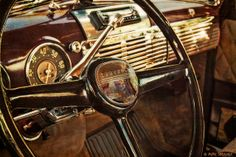 1952 Chevy Pickup Steering Wheel and Dash by Pillars of Creation Photography, via Flickr