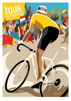 #LeTourdeFrance by Guy Allen.
