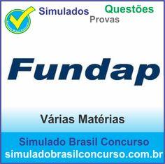 Concurso da banca Fundap 2014.  Novos Simulados e Questões da Fundap 2014.  http://simuladobrasilconcurso.com.br/simulados/concursos/?filtro_banca=17  #SimuladoBrasilConcurso, #ProvaFundap