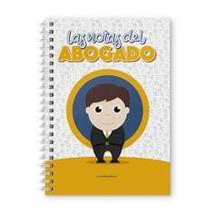 Cuaderno XL - Las notas del abogado, encuentra este producto en nuestra tienda online y personalízalo con un nombre. Notebook, Cover, Engineer, Notebooks, Report Cards, Day Planners, Products, The Notebook, Exercise Book