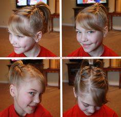 Braided Ponytail for Girls - Twist Me PrettyTwist Me Pretty