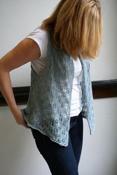 NobleKnits.com - Indigirl Knits Meadowlark Lace Vest Knitting Pattern, $6.95 (http://www.nobleknits.com/indigirl-knits-meadowlark-lace-vest-knitting-pattern/)