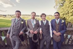 4 Treehouse Wedding in Northumberland By Craig Goode. Really like the different outfits