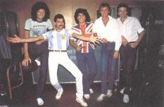 Queen and Diego Maradona