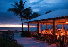 Beach Weddings and receptions on Anna Maria Island at the BeacHhouse.