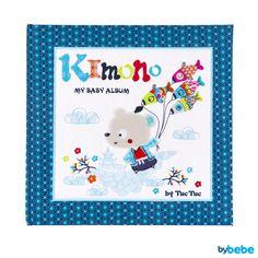 Álbum Bebé Kimono Azul Tuc Tuc Disponível em: http://www.bybebe.com/pt/livros-brinquedos/albuns/album-de-fotos-kimono-azul-tuc-tuc.html