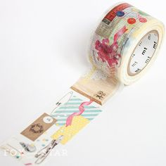 MT ex Material Washi Tape at Fox and Star Arts And Crafts, Paper Crafts, Inspiring Things, Scrapbooking Layouts, Washi Tape, Paper Goods, Ens, Crafty, Personalized Items