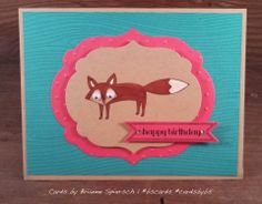 What does the fox say? Stampin' Up Life in the Forest