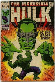 The Incredible Hulk Comic #115 (1969)