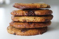 peanutbuttercookies med chokolade