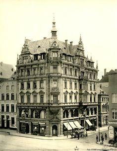 Bilderbuch Köln - altes Haus am Heumarkt