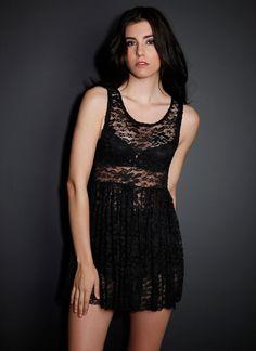 See You Monday Sleeveless Lace Tunic   Clothing 30% Off