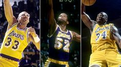 The Lakers will honor Kareem, Silk and Shaq this season.