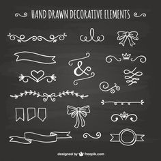 Chalkboard Vectors, Photos and PSD files Chalkboard Doodles, Chalkboard Vector, Chalkboard Writing, Blackboard Wall, Chalkboard Lettering, Chalkboard Signs, Doodle Icon, Doodle Art, Christmas Art For Kids