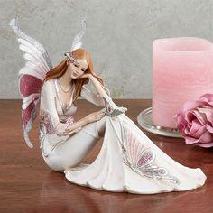 Butterfly Beauty Figurine Pink