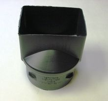 "HDPE 4"""" x 6"""" x 6"""" Singlewall Downspout Adapter"
