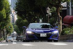 【インプレッション】ホンダ「NSX」(公道試乗/橋本洋平) / (9/17) - Car Watch Acura Nsx, Honda Cars, Jdm Cars, Supercars, Japan, Architecture, Craft, Vehicles, Blue