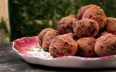 Trufas de chocolate com pimenta - Receitas que brilham - GNT
