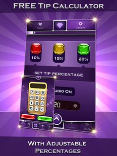 Best Free Tip Calculator App! Best Free Apps, Free Tips, App Icon, Calculator, Health Fitness, Gems, Make It Yourself, Signs, Check