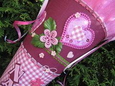 Schultüte+HEART+HERZ+LIEBE+LOVE++von+365sonnenschein+auf+DaWanda.com