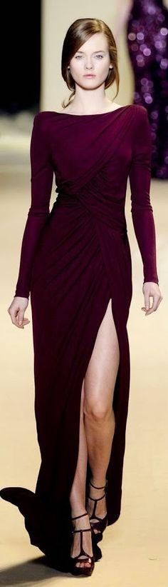 Lanvin gown. V