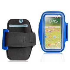 Sports Active Blue Armband Samsung Galaxy S4 Case