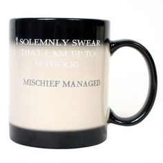 Harry Potter Mischief Managed Color Shifting Mug by BazaarSalazar