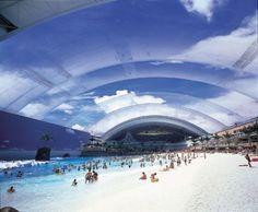 Indoor beach