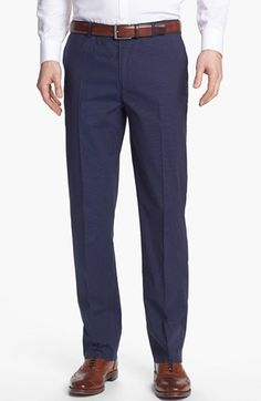 Calibrate 'Rhoden' Stripe Trousers (Tall) available at #Nordstrom